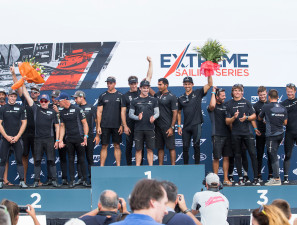 The Extreme Sailing Series 2017. Act4. Barcelona, Spain.