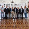 Multitudinaria la presentación oficial en el Náutico de Vigo (Foto Pedro Seoane)