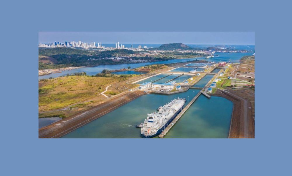 La congestión provoca un aumento de los fletes spot de gaseros (Foto Canal de Panamá)