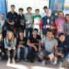 Tras la regata tenía lugar la entrega de trofeos en el Centro Especializado de Tecnificación Deportiva Bahía de Cádiz en un acto que contó con la presencia de José María Escribano Ivison en calidad de vicepresidente de la Federación Andaluza de Vela y el tesorero Javier Mantas