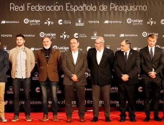 El piragüismo celebró su gala anual