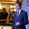 Miguel Pardo, director Comercial de Trasmediterránea, durante la presentación de TaPalma