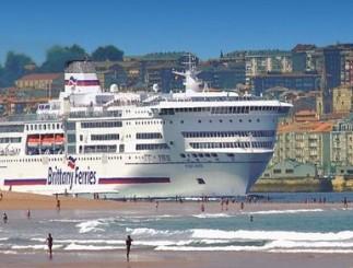 Ambos buques conectarán los puertos de Santander y Bilbao con el puerto de Portsmouth, en Inglaterra, rutas en las que el tráfico de pasajeros ha crecido un 80 % en los últimos diez años