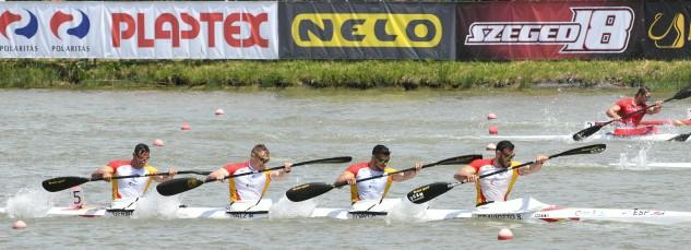 Los logros del equipo nacional sitúan a España al frente del medallero de primeros podios con 4 oros empatada con las potencias de Hungría y Nueva Zelanda