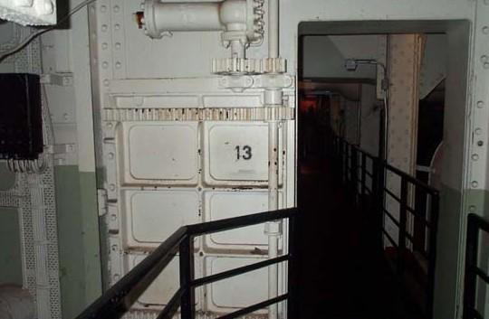 La maldición de la puerta 13 de la sala de máquinas