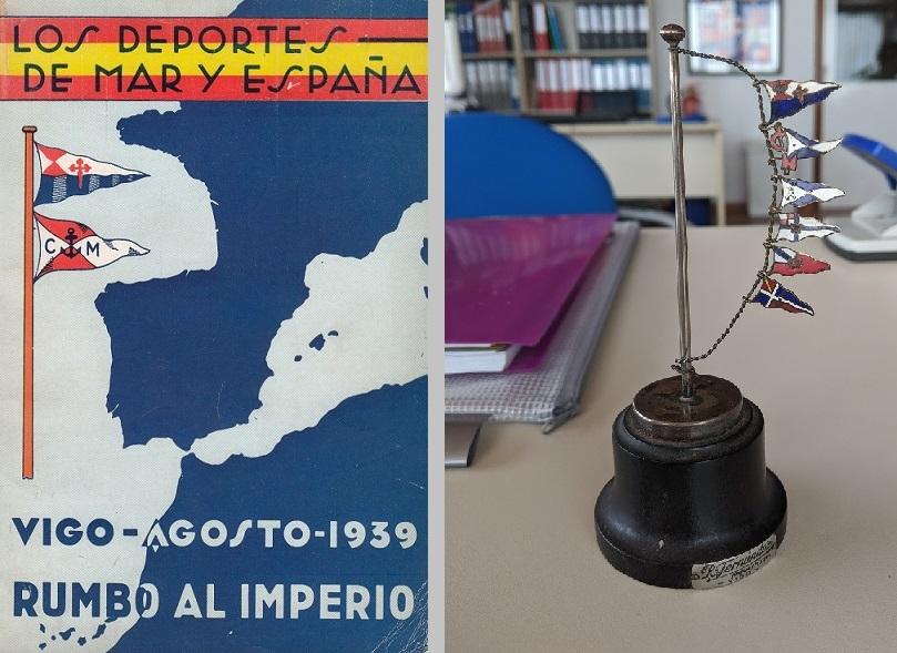 La pieza se elaboró en 1939 en los talleres de Ramón Fernández de Vigo