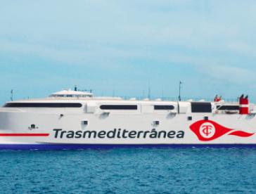 Trasmediterránea cubrirá la línea Gandía - Ibiza - Palma con el buque rápido Milenium Dos a partir del 15 de junio
