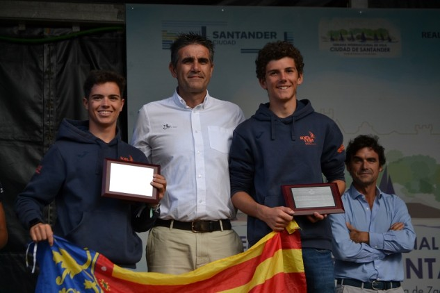 El podio se ha completado con Alvaro Alonso y Guillermo Castellano (RCN Gran Canaria) y Antonia Shultheis y Maria Gonzalez (RCN Tarragona)