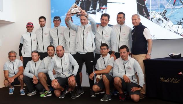El Swan 45 de Luis Senís, bajo la grímpola del Real Club Náutico de Valencia, logra revalidar el triunfo en el Principado y se coloca líder provisional The Nations Trophy Med League, título que también defiende en la presente temporada