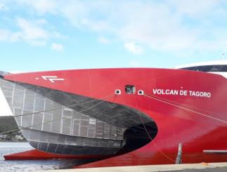 En el nuevo buque, cuya entrega está prevista en las próximas semanas, se han introducido mejoras sustanciales en cuanto a rendimiento que incluyen mayor velocidad, menor consumo de combustible y mejor estabilidad