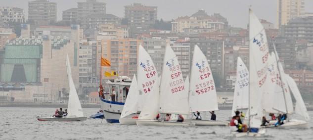 Poco e inestable viento para la última de las diez jornadas de regatas de la Semana Internacional de Vela Ciudad de Santander