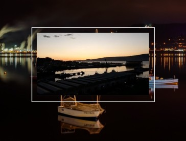 Emocionante lo vivido en el Puerto de Marín esta tarde-noche