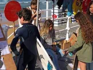 Los junior coparon la atención en Gijón