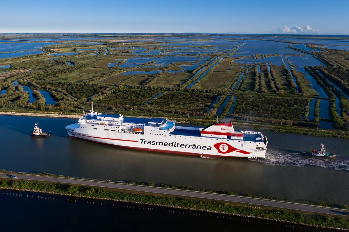 La entrega del nuevo buque se producirá el próximo 30 de julio y a continuación se posicionará en el puerto de Cádiz